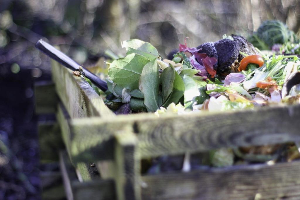 Composting Process From Kitchen Wastes